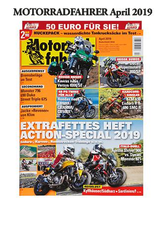 »Motorradfahrer« April 2019