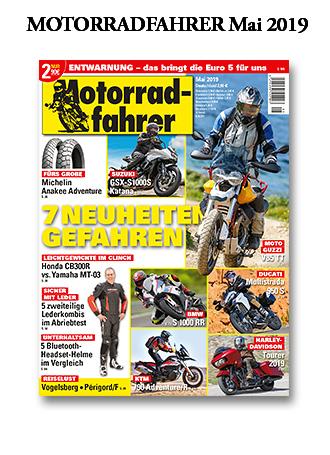 »Motorradfahrer« Mai 2019