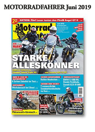 »Motorradfahrer« Juni 2019
