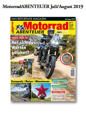 MotorradABENTEUER Ausgabe Juli/August 2019