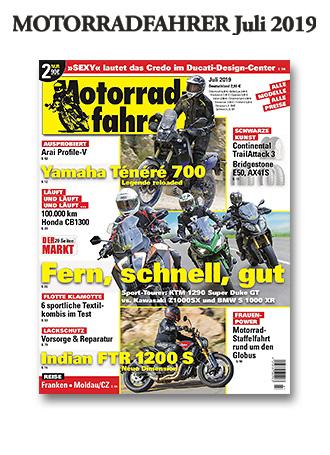 »Motorradfahrer« Juli 2019