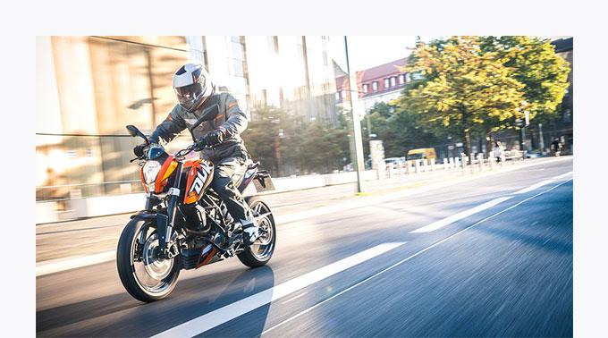 Foto: KTM 125 Duke © KTM / R. Schedl