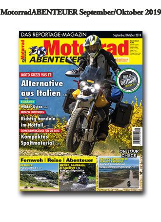 MotorradABENTEUER Ausgabe September/Oktober 2019