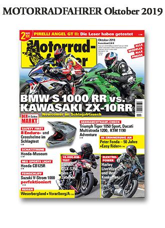 """""""»Motorradfahrer« Oktober 2019"""