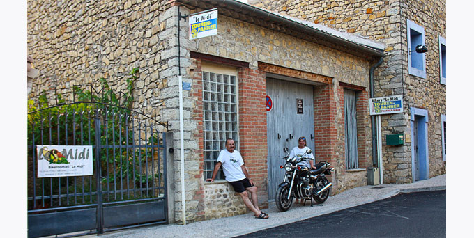 Bikerdomizil Le Midi