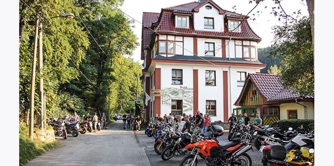Bikerherberge Sormitzblick