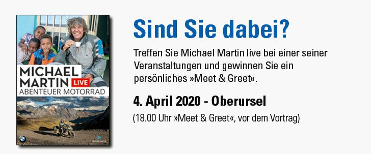 »Meet & Greet« Michael Martin