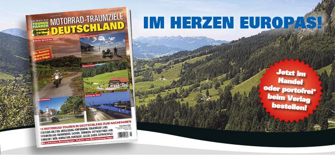 TF-Sonderheft »Motorrad-Traumziele Deutschland«