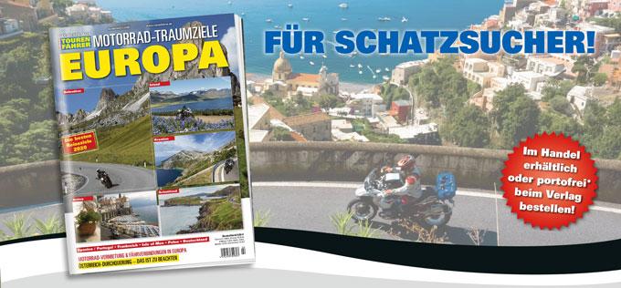 TF-Sonderheft »Motorrad-Traumziele Europa«