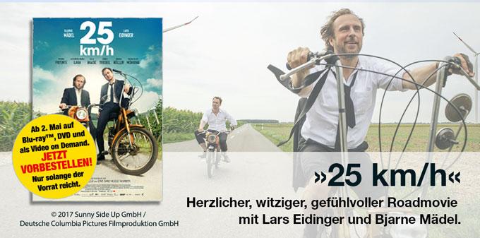 25 km/h DVD/Blu-ray