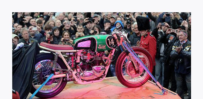 Motorradszene und Event