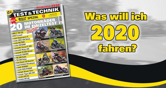 """»Motorradfahrer-Spezial TEST und TECHNIK« Ausgabe 2"""""""