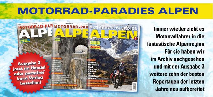TF-Sonderheft »Motorrad-Paradies Alpen 3«