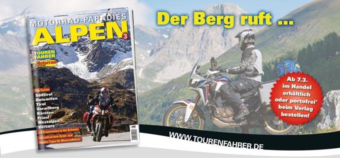 TF-Sonderheft »Motorrad-Paradies Alpen 3