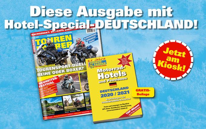 TOURENFAHRER April 2020 mit Hotel-Special Deutschland