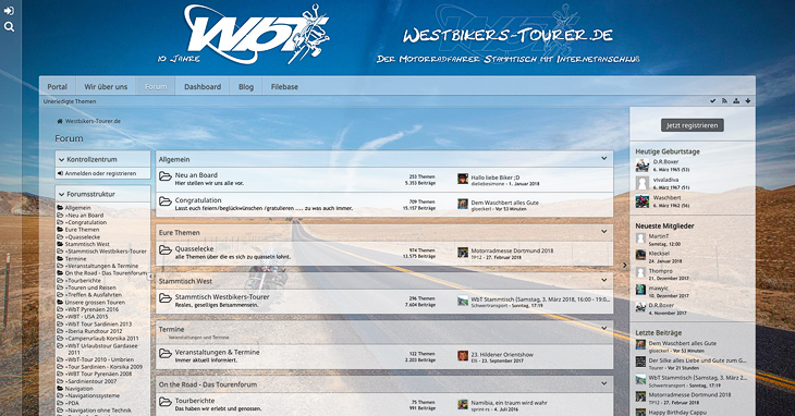 Motorradforum | www.westbikers-tourer.de