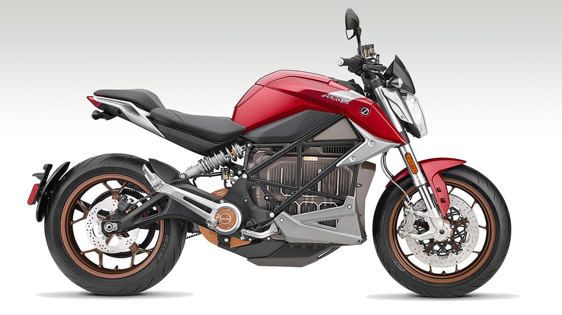 purchase cheap 25c02 bb880 Elektromotorrad Zero SR F mit Stabilitätskontrolle MSC von Bosch